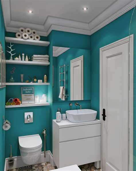 teal bathroom interior design ideas