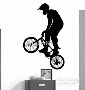 sweet Life Bmx Bike Wall Tattoo Diy All Pictures Home