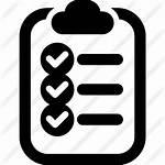 Clipboard Icon Checklist Mark Engine Check Library