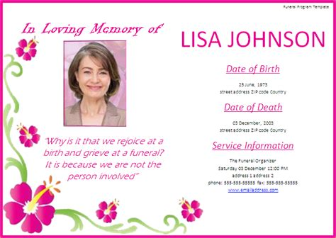 Free Memorial Service Program Template  Template Business. Sample Of Resignation Letter For Personal Reasons Template. Program Templates For Word Template. Graph Chart Template. Loan Agreements Templates Picture. Sample Of Nurses Resume Template. Examples Of Job Objectives For Resumes. After Effects Template. Personal Trainer Marketing Plan