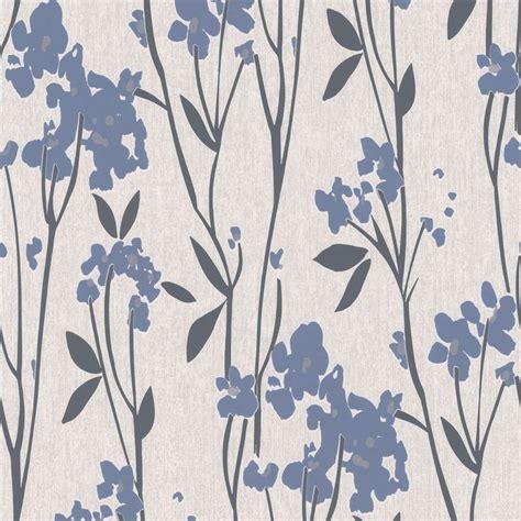 Super Fresco Paste The Wall Empathy Blue & Cream Wallpaper