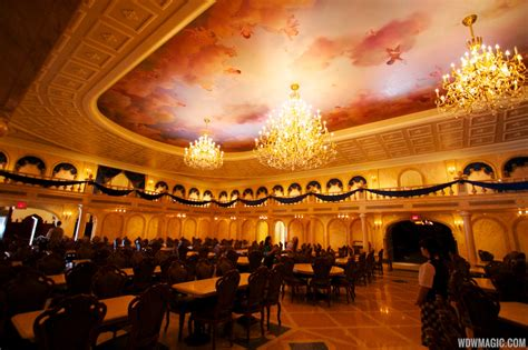 Inside Be Our Guest Restaurant Dining Rooms  Photo 18 Of 19