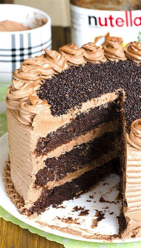 Nutella Cake - King Kullen