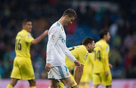 La Liga 2017/18: Real Madrid 0-1 Villareal - Player ratings