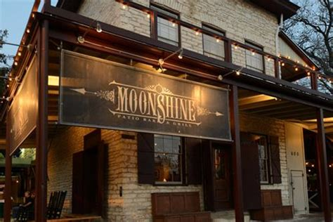 moonshine patio bar and grill in downtown