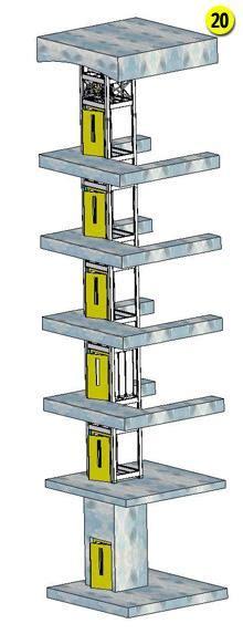 monte plat cuisine monte charge electrique 6 niveaux sur mesure