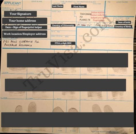 Maybe you would like to learn more about one of these? Sample FD-258 Fingerprint Form (USA FBI)