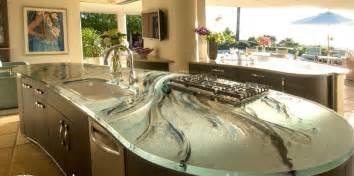 modern kitchen countertop ideas modern kitchen countertops from materials 30 ideas