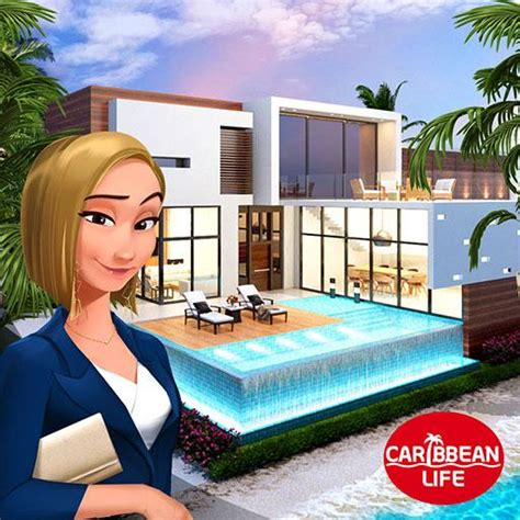 home design caribbean life  mods apk