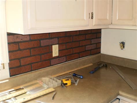 brick backsplashes for kitchens brick kitchen backsplash viewing gallery