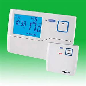 Radio Controlled Programmable Room Thermostat
