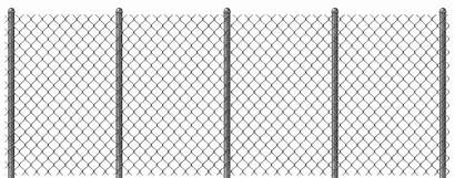 Fence Chain Link Clipart Transparent Clip Metal