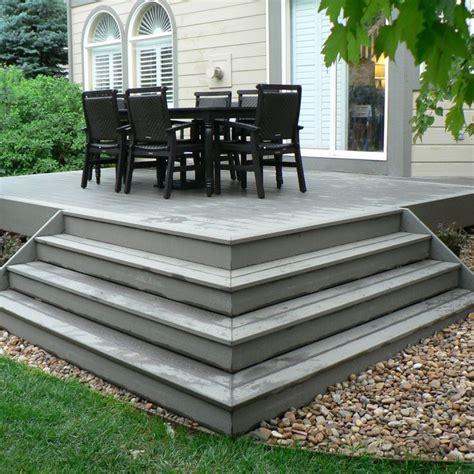pictures  composite decks  steps small composite