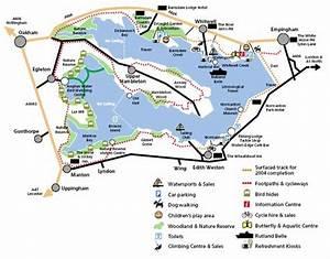 Rutland Water Cycle Map