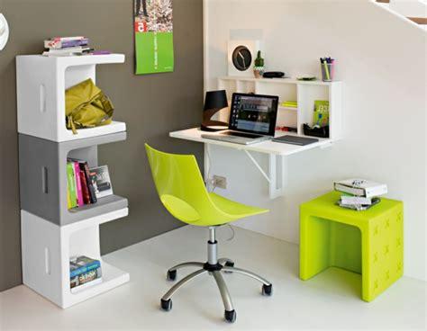 exemple cuisine moderne le bureau escamotable décisions pour les petits espaces