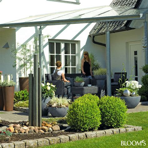 terrasse dekorieren modern bloom s album