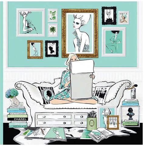booktopia fashion house illustrated interiors