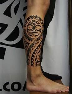 Tatouage Mollet Tribal : tatouage maori mollet homme l atelier de romane ~ Farleysfitness.com Idées de Décoration