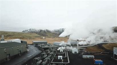 Geothermal Power Plant Carbon Capture Climeworks Project