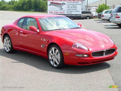 red maserati spyder 2004 rosso mondiale red maserati coupe cambiocorsa