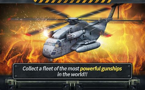 gunship battle helicopter  apk obb  mod