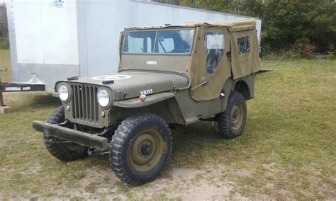 military jeep willys for sale 1946 willy s jeep for sale