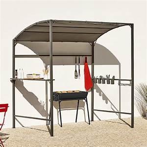 Abri Pour Barbecue Exterieur : abri pour barbecue alice gris anthracite l 240 x l 140 x h ~ Premium-room.com Idées de Décoration
