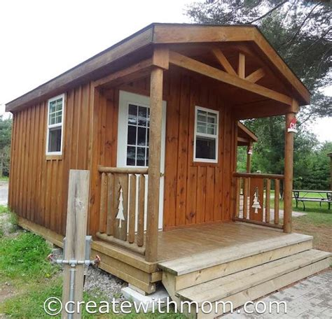 whispering pine cabins create with our stay at santa s whispering pines