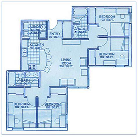 floor plans rit university commons housing operations