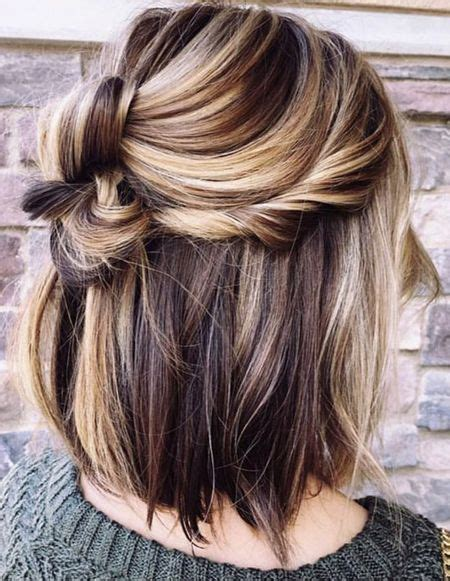 updo knot hairstyles ideas  spring summer