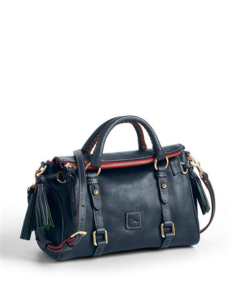 lyst dooney bourke florentine leather mini satchel bag