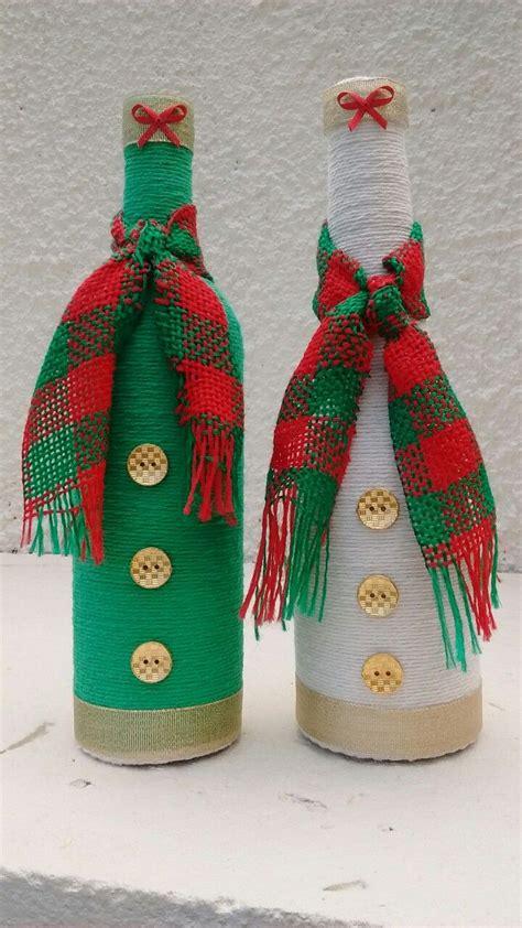 pin de nurmy gaby rivera en botellas navidad botellas decoraci 243 n de botellas