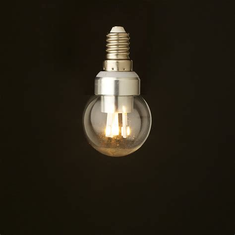round led light bulbs 3 watt dimmable led e14 fancy round bulb