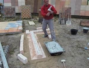 Dalle De Jardin Beton : am nagements de jardin dalles murets et marches en b ton ~ Melissatoandfro.com Idées de Décoration
