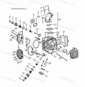 Polaris Atv 2014 Oem Parts Diagram For Engine