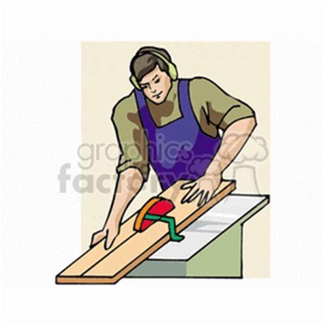 carpenter clip art image royalty  vector clipart