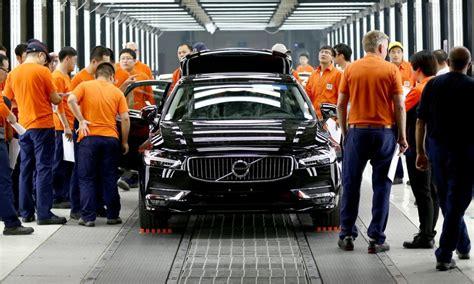 volvo accelere sa conversion industrielle au   china