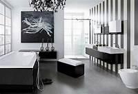 black and white bathroom decor Black Bathroom Design Ideas To Be Inspired