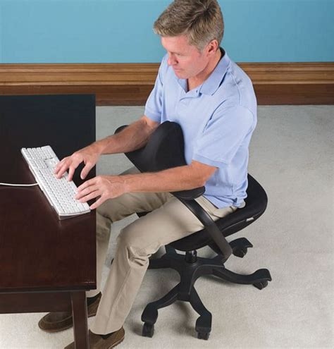 optimal posture office chair keeps you from slouching at work