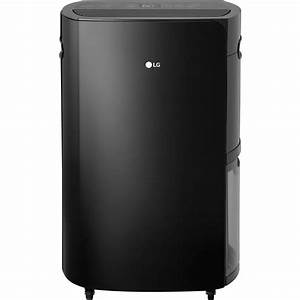 Lg Puricare 70-pint Dehumidifier In Black