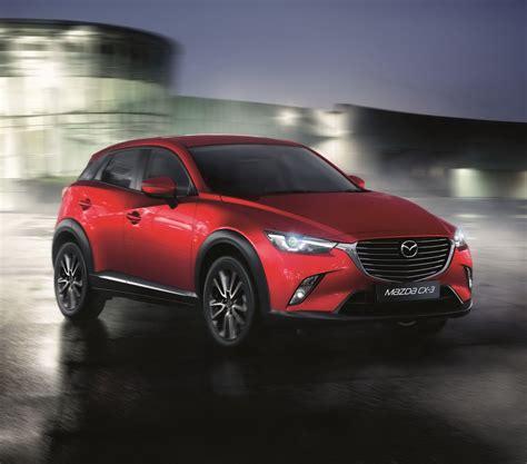 Mazda Uk Announces Pricing & Specs For Small Cx-3 Suv
