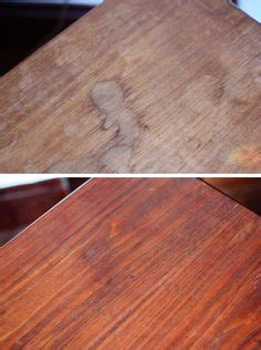 fix  wood table   peeling water damaged top
