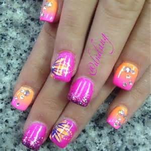 Nail art designs for summer girl design creative pedicure