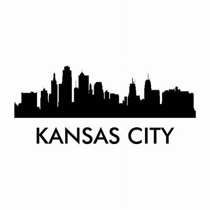 Kansas Skyline Decal Decals Cities