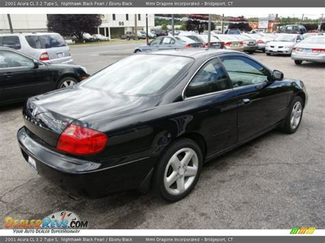2001 acura cl 3 2 type s nighthawk black pearl ebony