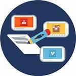Marketing Icon Social Training Transparent Development Pngkit