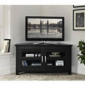 20 photos black wood corner tv stands tv cabinet and With kitchen cabinet trends 2018 combined with clear packaging stickers