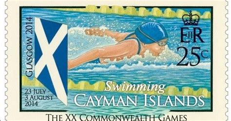 rainbow stamp club commonwealth games philatelic