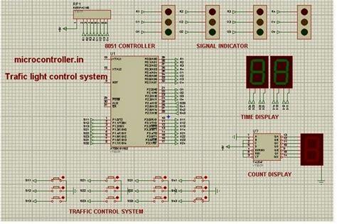 Microcontroller Traffic Light Signal