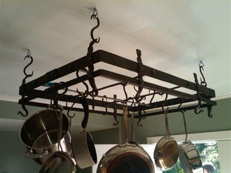 hand  forged pot rack  hellgate forge custommadecom